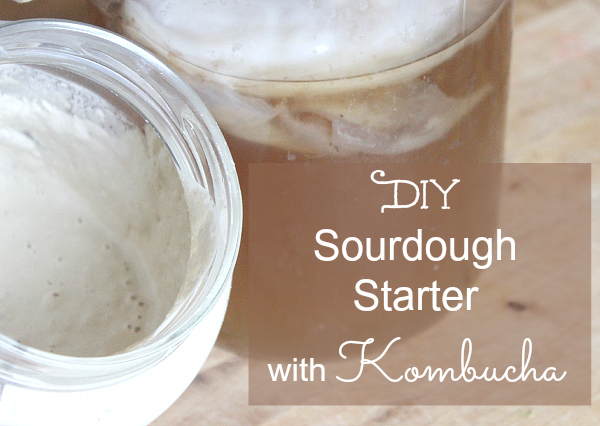 DIY Sourdough Starter with kombucha PT