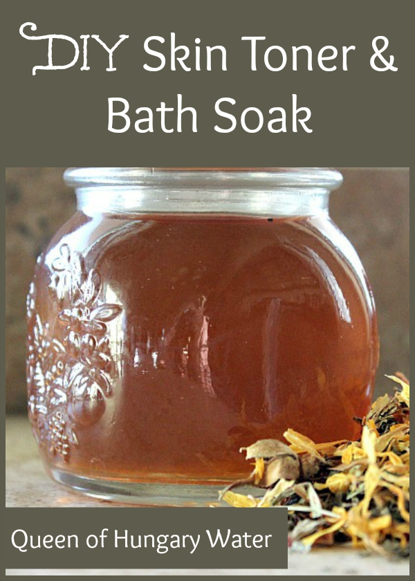 DIY Skin Toner and Bath Soak