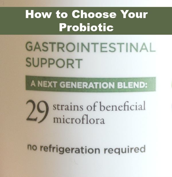 How to choose your probiotic