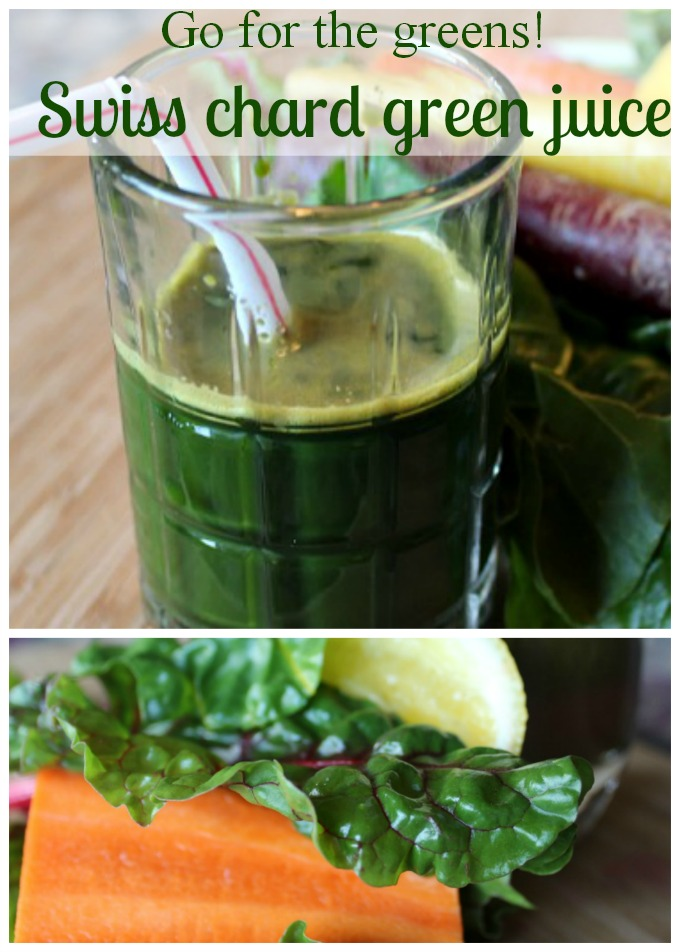 Swiss chard green juice