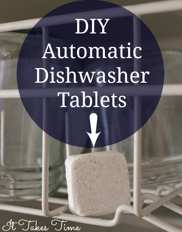 DIY Automatic Dishwasher tablets