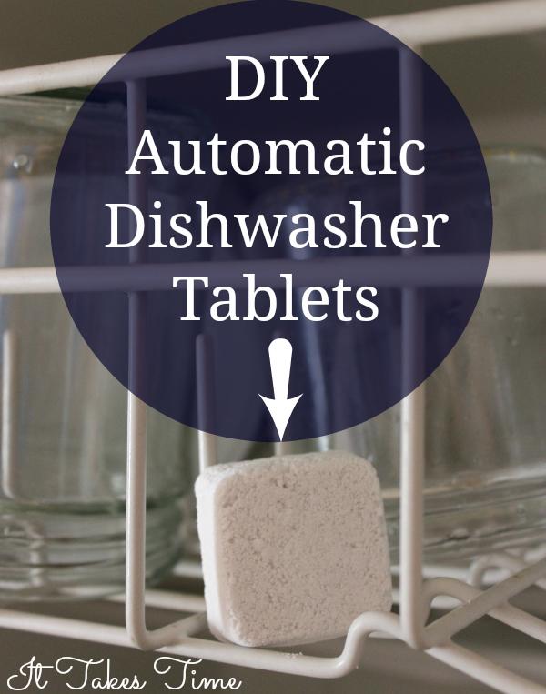 DIY Automatic Dishwasher tablets