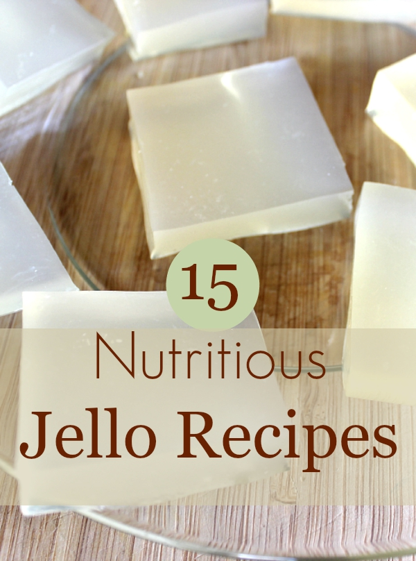 Looking for a simple, real food snack Try homemade Jello! It Takes Time