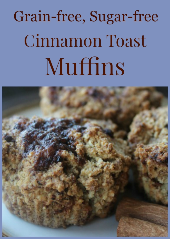 This gluten-free muffin recipe tastes just like cinnamon toast! #realfood #Paleo #GAPS #glutenfree