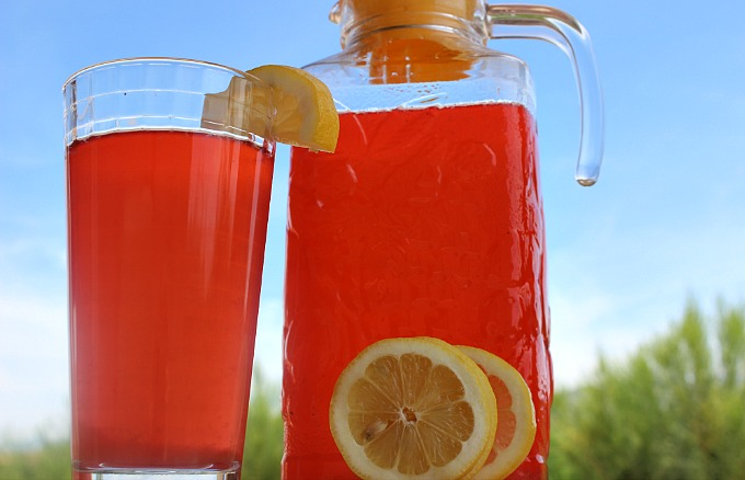 raspberry lemonade for ITT
