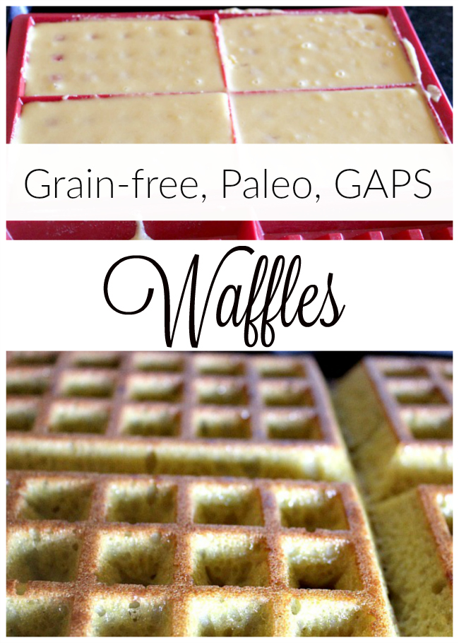 Does your family love waffles? Try this grain-free coconut flour waffle recipe!