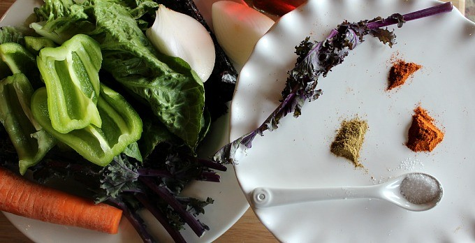 Super Booster Kale Chips