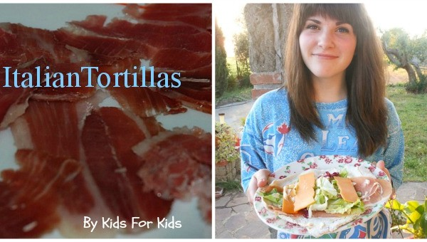 Prosciutto di Parma tortilla By Kids For Kids