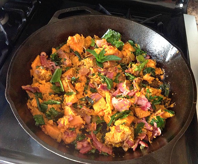 Sweet Potato and Kale Stir-Fry – By Kids For Kids