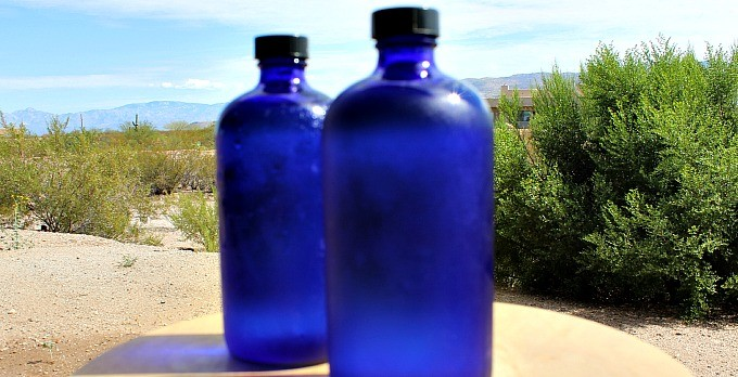 Drink in the Sun – Make Your Own Solar Water