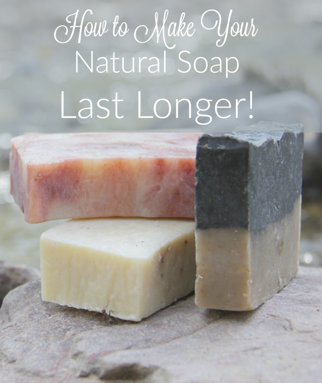 Looking to prolong the life of your soap Natural soap is less harsh, but often dissolves quickly. Find out how to protect your investment!