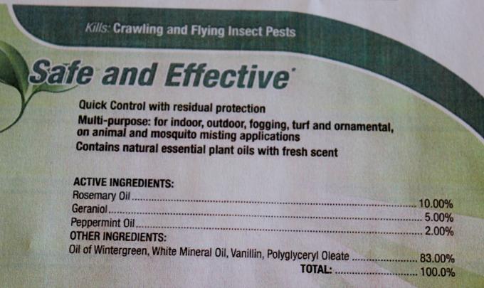 Pesticides natural alternative