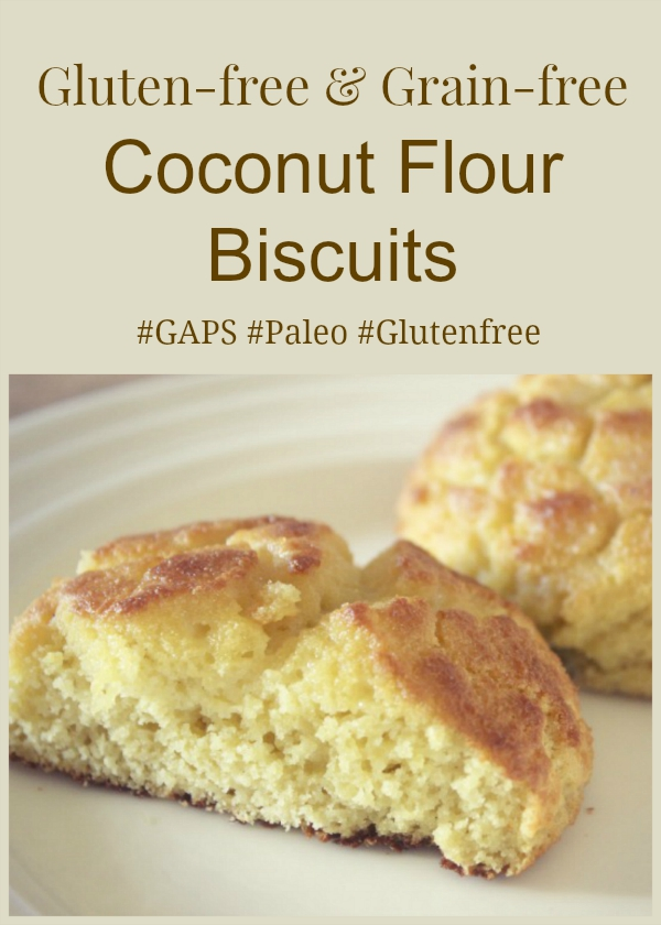 These grain-free and gluten-free biscuits go nicely with any meal ...