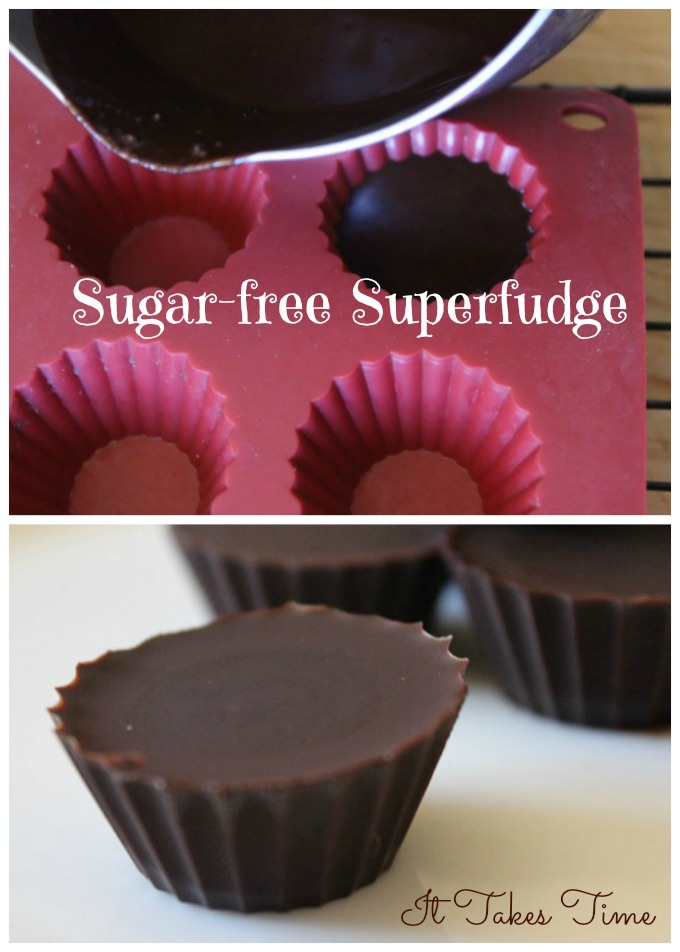 Sugar-free Superfudge for ITT