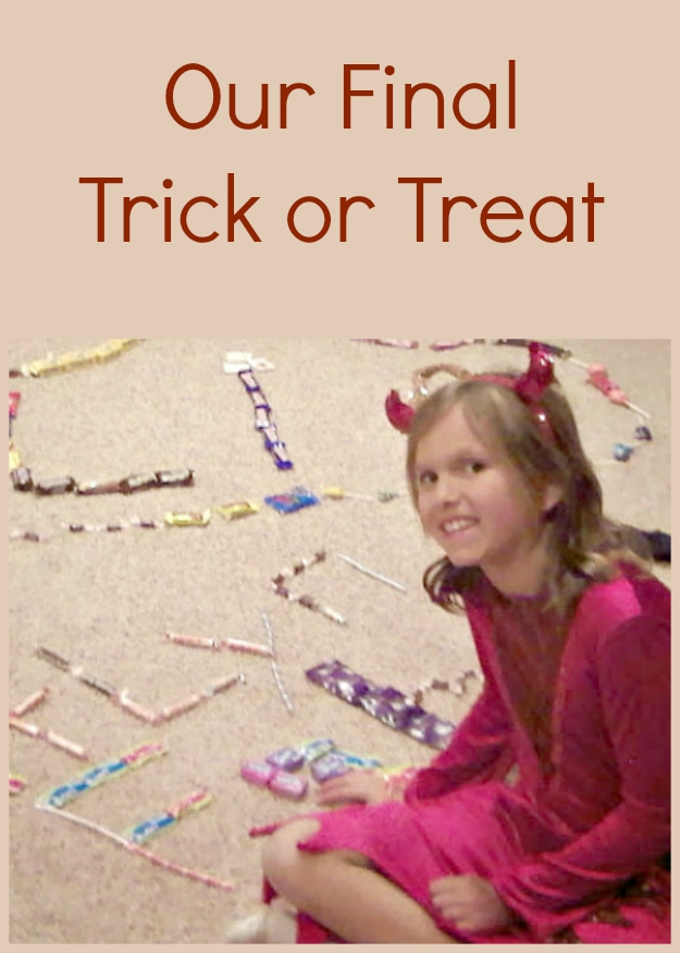 We said good-bye to trick or treat in 2008. Find out why! #realfood #sugarfree