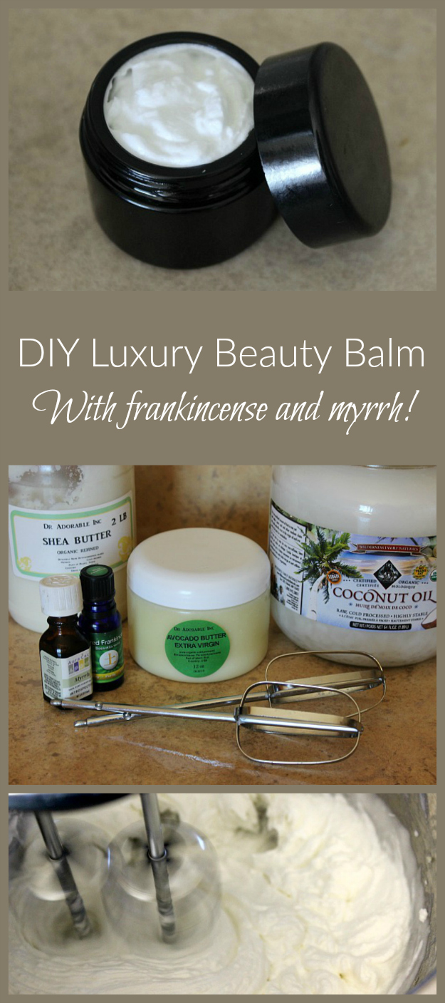 Create this luxurious beauty balm. Ideal gift for a friend or family member or yourself!