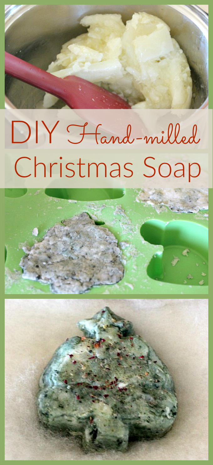 Looking for a simple homemade DIY gift Try hand-milling your favorite natural soap!