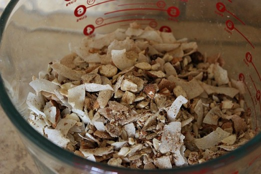 grain-free granola dry ingredients