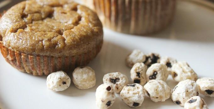Tiger Nut Pumpkin Muffins