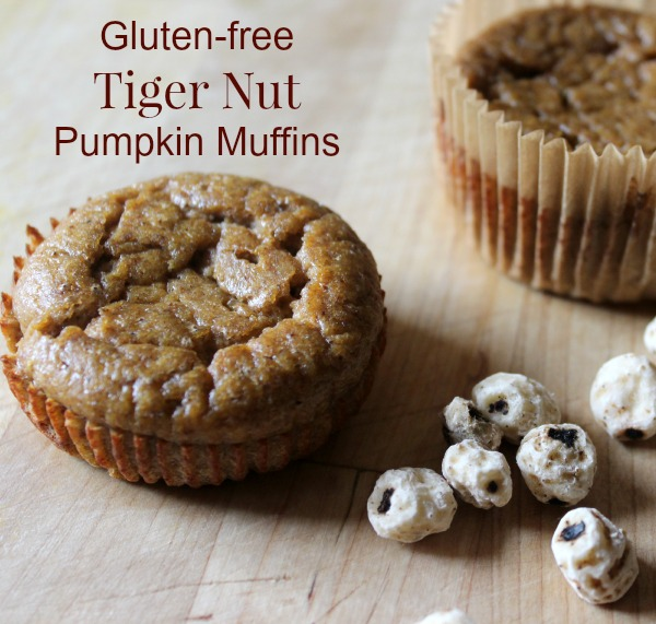 Tiger Nut Pumpkin Muffins for ITT
