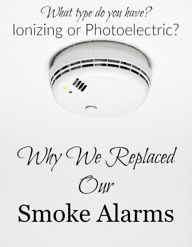 Which type of smoke alarm is a biohazard What type do you have Find out why we replaced our smoke alarms!