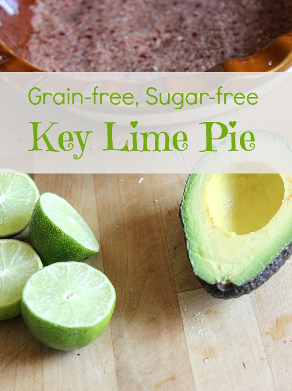 Grain-free Sugar-free key lime pie