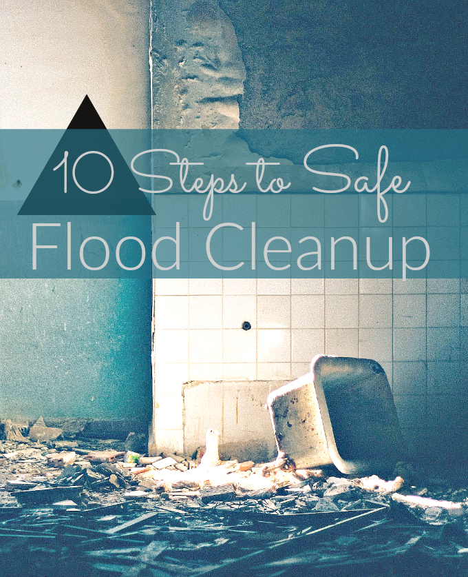 Has your house flooded due to weather or water leak Quick action is critical. Follow these guidelines for safe cleanup!