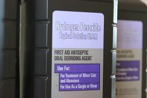 Hydrogen peroxide bleach alternative