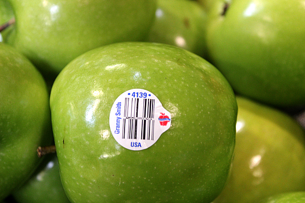 PLU Code for apple Label facts