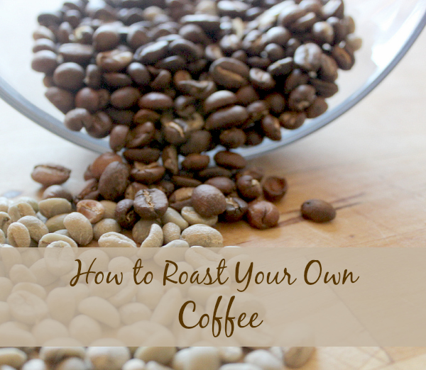 How to Roast your Own Coffee PT