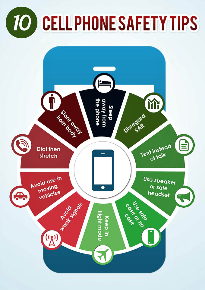 10 Cell Phone Safety Tips