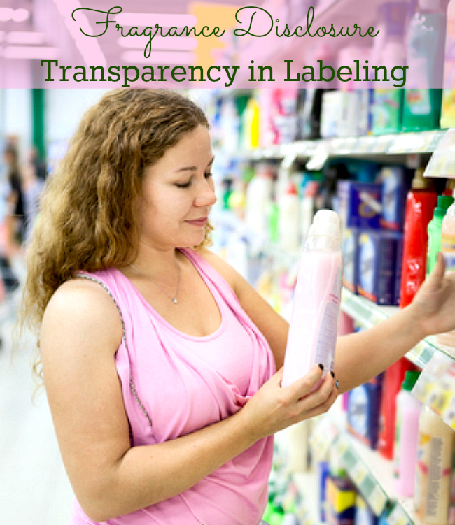 Fragrance Disclosure - labeling transparency PT