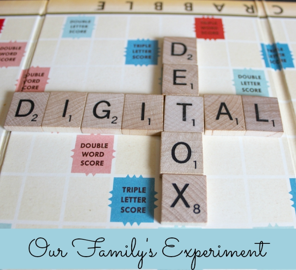 Digital Detox - our Family's experiment!