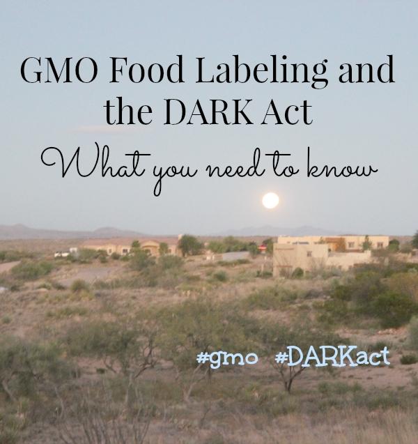 GMO food labeling and the DARK act #DARK act #gmo
