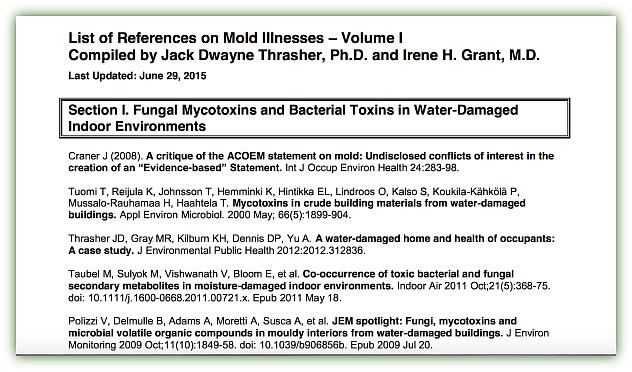 Mold Illness PDF link