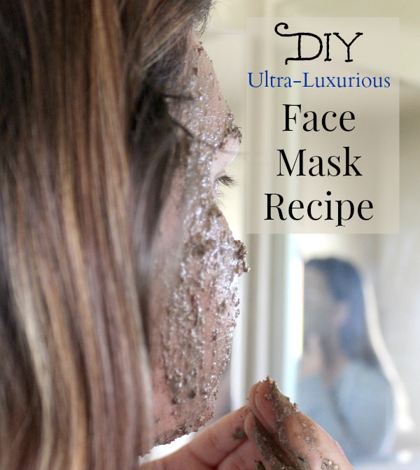 Enjoy this ultra-luxurious pampering experience with all natural ingredients! #natural #diy #skincare