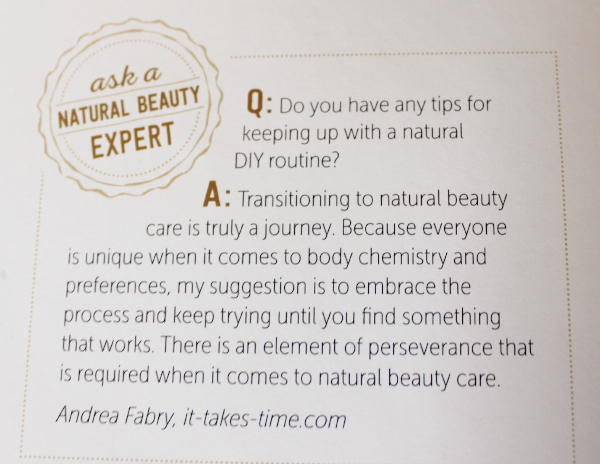 The Natural Beauty Solution book quote