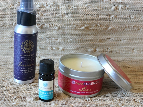 rareESSENCE Essential Oils and Candles
