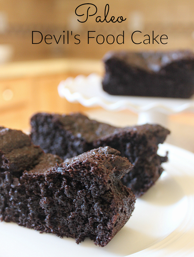 Looking for grain-free dessert options? Try this Paleo Devil's Food Cake!