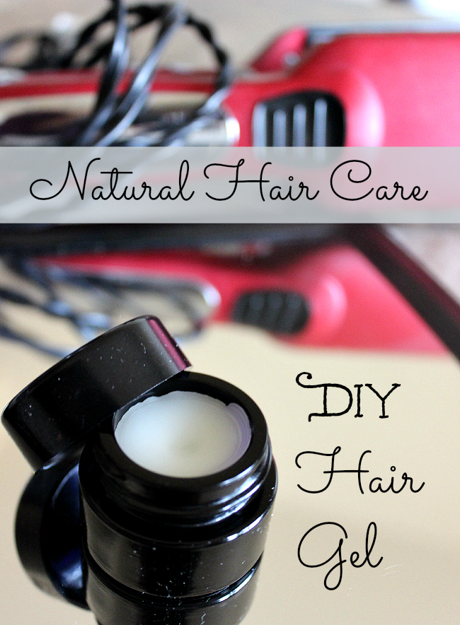No need for harsh chemicals when it comes to styling your hair. This this DIY Hair Gel Recipe!