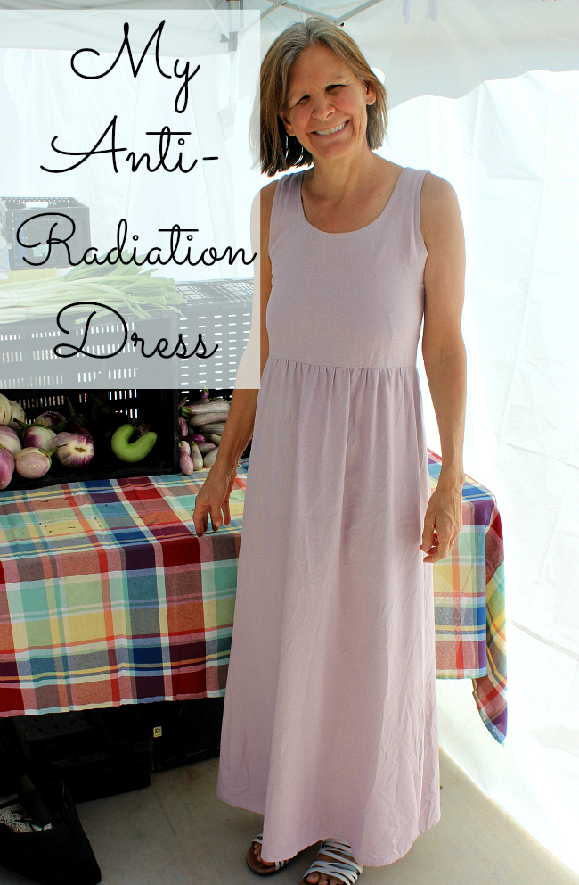 This Anti-Radiation Dress is made from natural bamboo and silver and offers unique shielding and grounding properties!