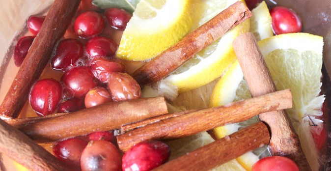 DIY Holiday Potpourri