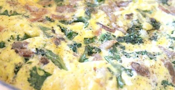 Green Veggie Frittata