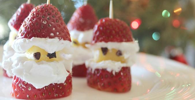 Gluten-free, Sugar-free Santa Berries