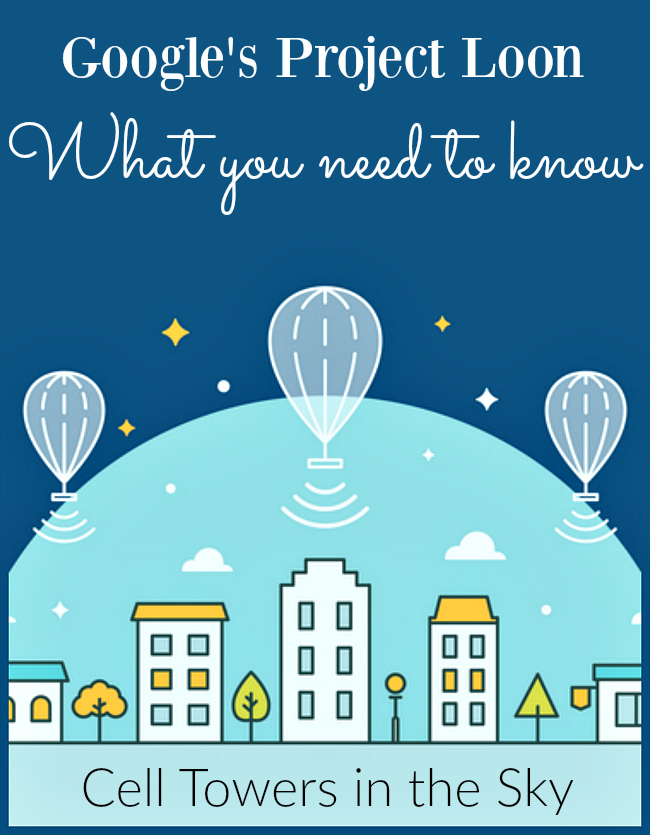 Google is staying secretive about their Project Loon set to launch in 2016. What is Project Loon and what do you need to know about these cell towers in the sky