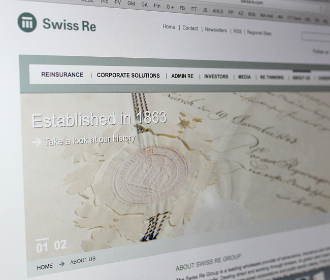 What is Swiss Re