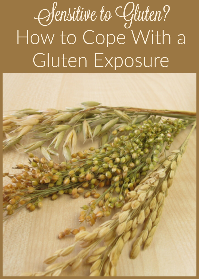 Are you gluten-intolerant Trying to stay on a gluten-free diet Wondering what to do when you're exposed to gluten Try this tips for minimizing the effect!