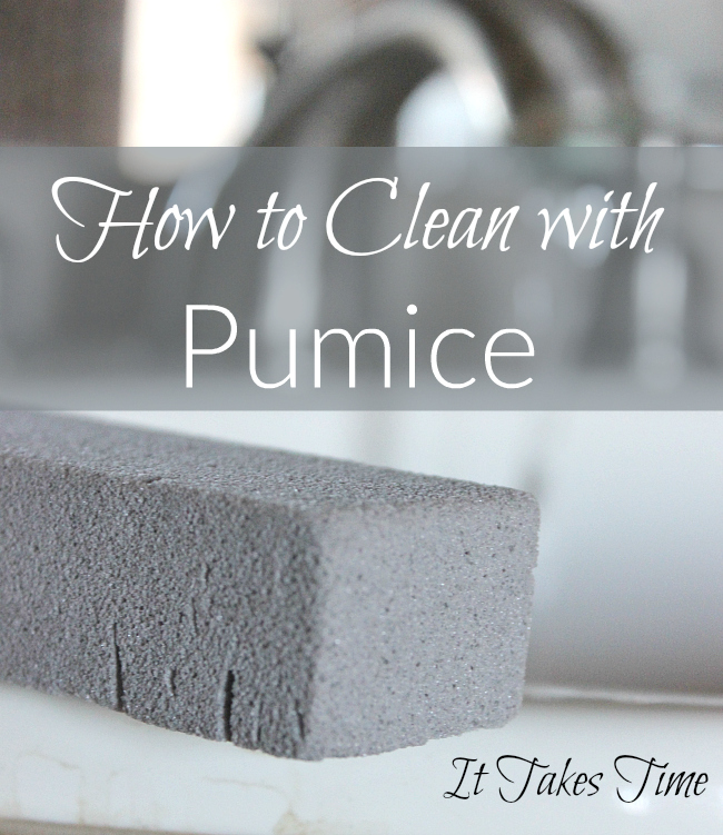 Are you looking to avoid harsh cleaning chemicals You'll love pumice!