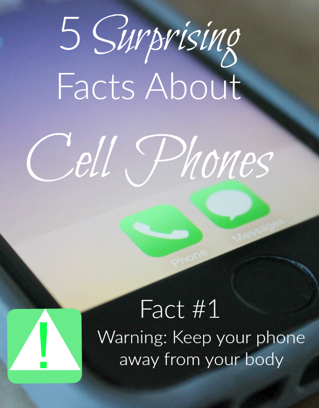What does your instruction manual say about the distance between you and your cell phone? What does the insurance industry know about wireless radiation that you may not know? Find out more about this surprising facts about cell phones!