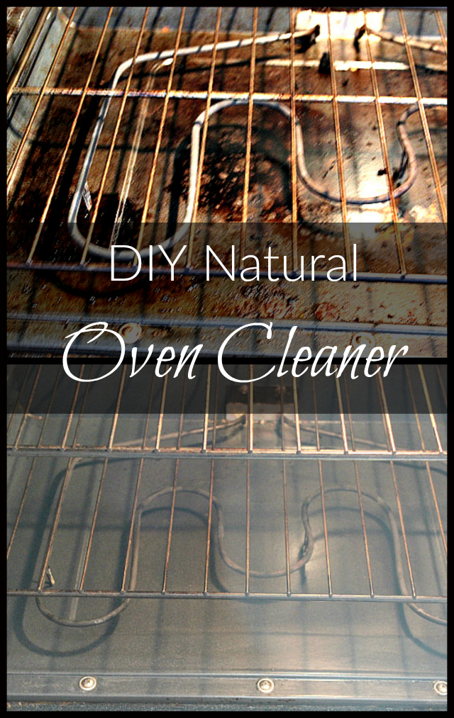 Looking for a natural way to clean your oven? Try this two-ingredient grime-fighting oven cleaner!